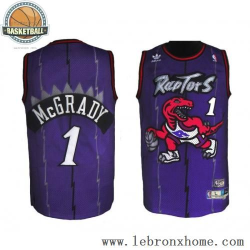 57d115b12 Toronto Raptors 1 Tracy McGrady Retro Blue White NBA Jerseys (amazon) size  large