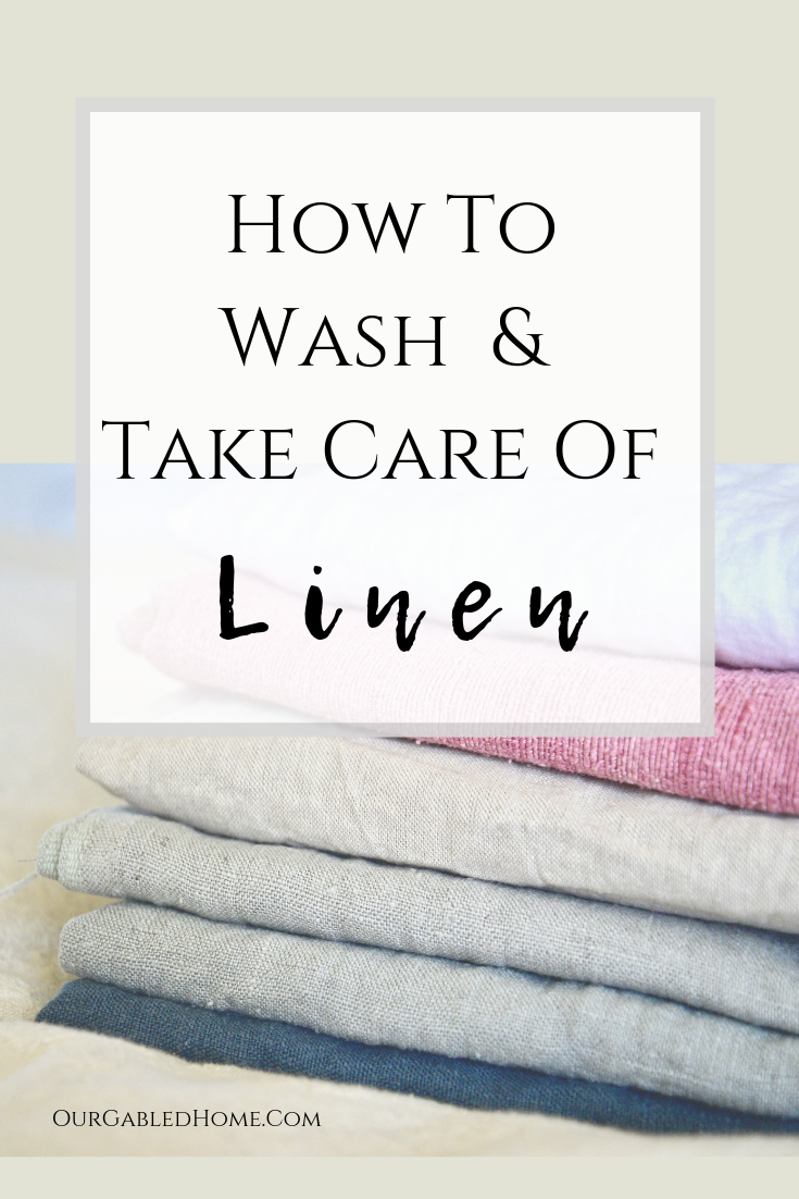 Learn How To Wash And Take Care Of Your Linen Clothes And Home Fabrics Laundry Detox Your Home Simple Living Clean Linen