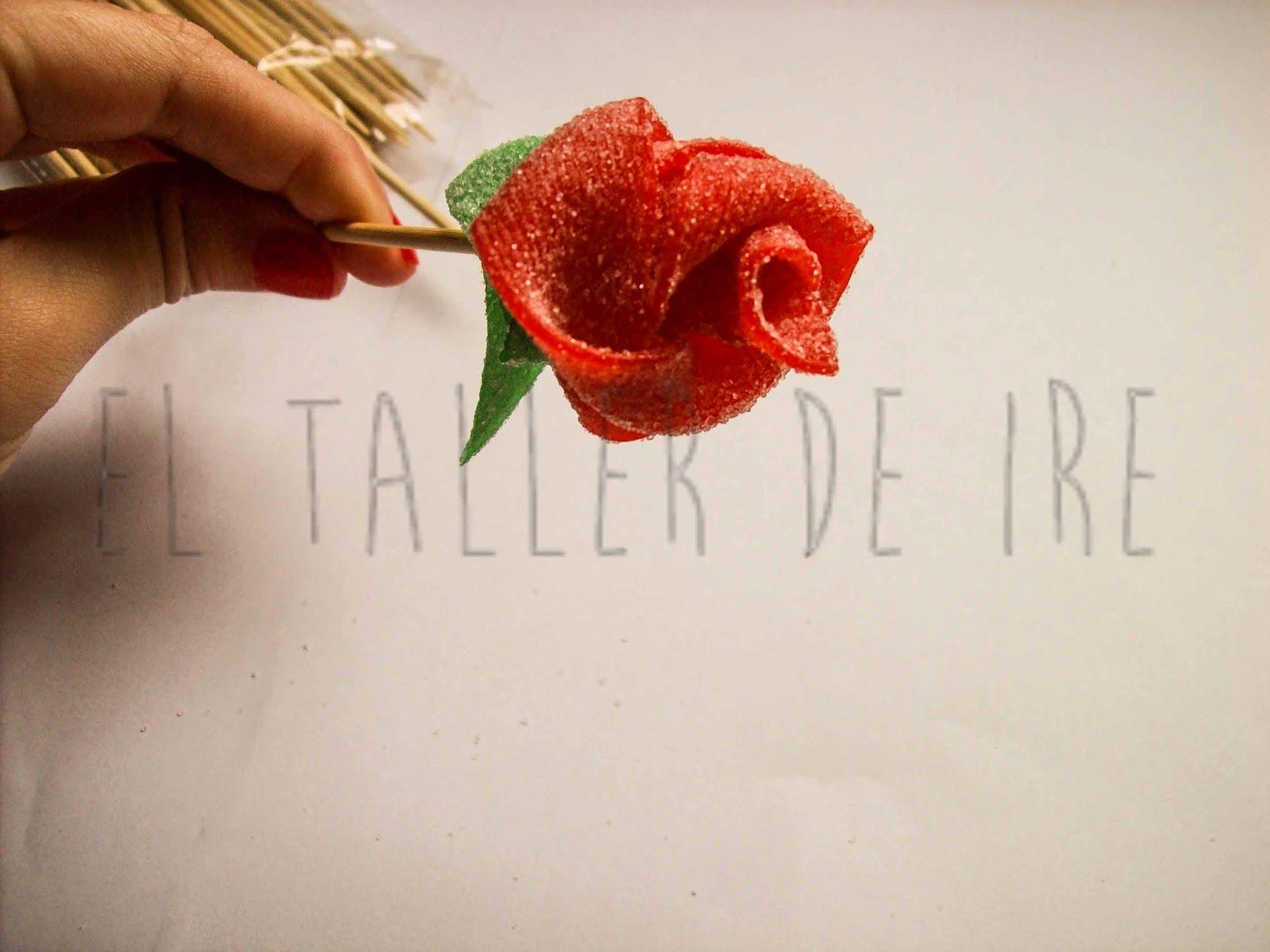Especial San Valentín: Centro de mesa de golosinas