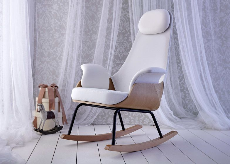 A Spanish Design Firm Has Crafted The Perfect Breastfeeding Chair Design Trendhunter Com Nursing Chair Breastfeeding Chair Chair Design