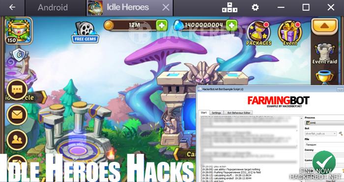 Idle Heroes Hack APK - Unlimited Gems, Spirit, Heroic Summon