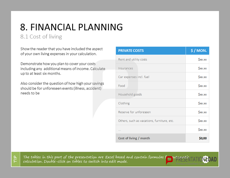 A business plan is a written document of about 20 50 pages which business plan templates powerpoint set includes radial diagrams pie and gantt charts as well as profitability analysis templates on funding and accmission Image collections
