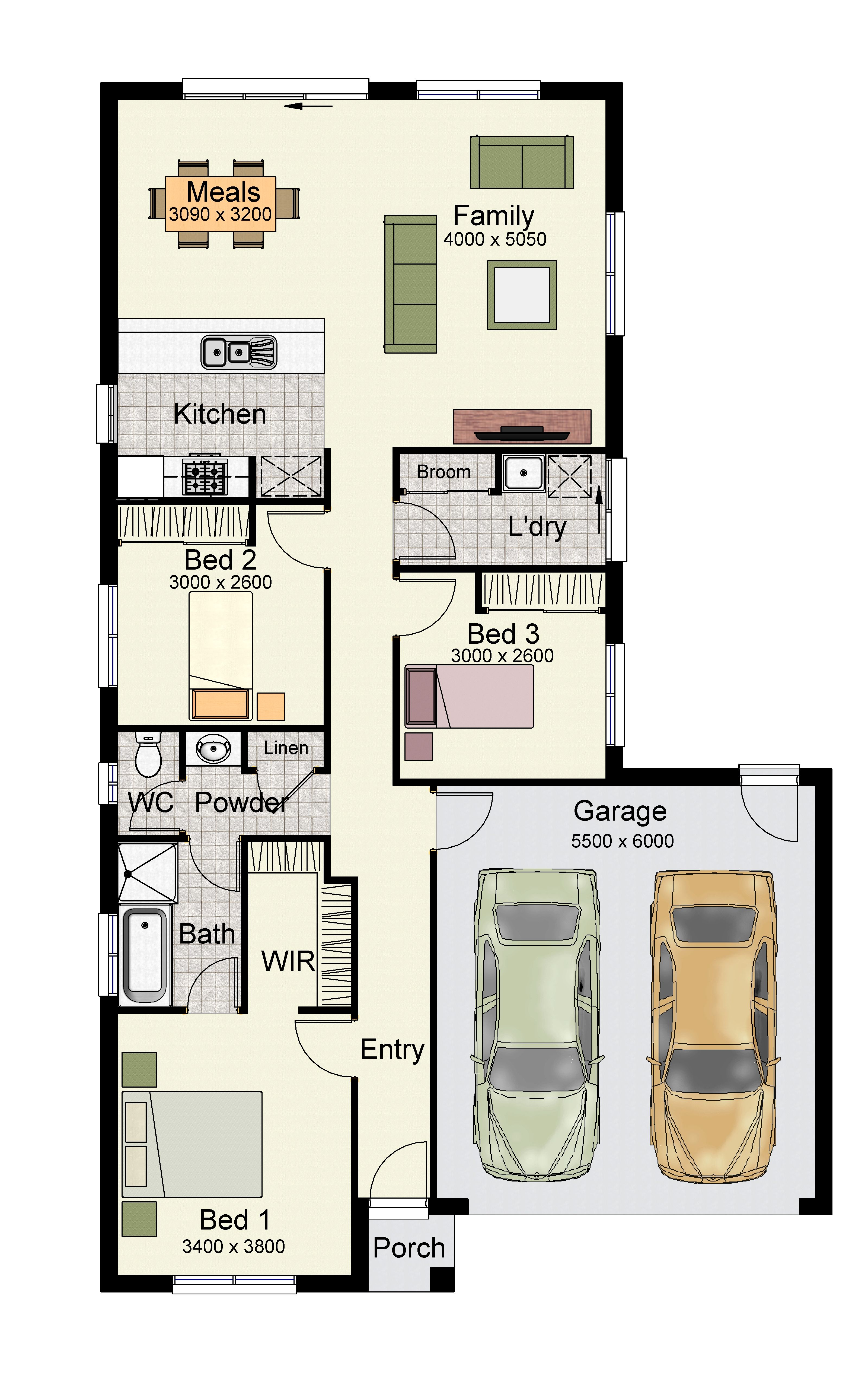 Our Home Designs Porch house plans, House plans, Floor plans