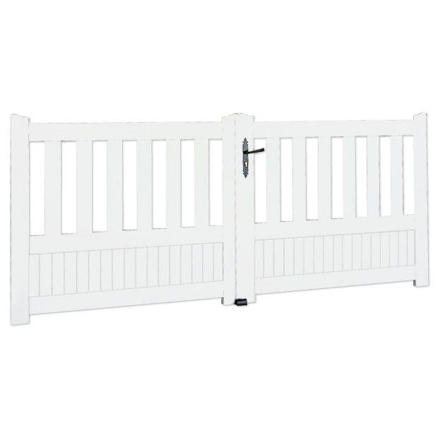 portail battant pvc est rel pvc portail et styles de maison. Black Bedroom Furniture Sets. Home Design Ideas