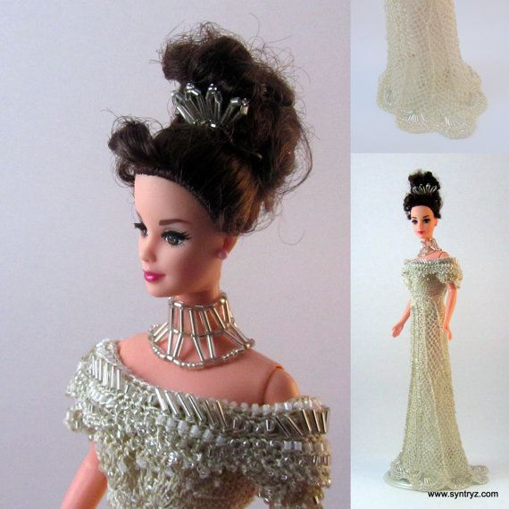 Embassy Ball gown from My Fair Lady for Fashion Doll by Syntryz ...