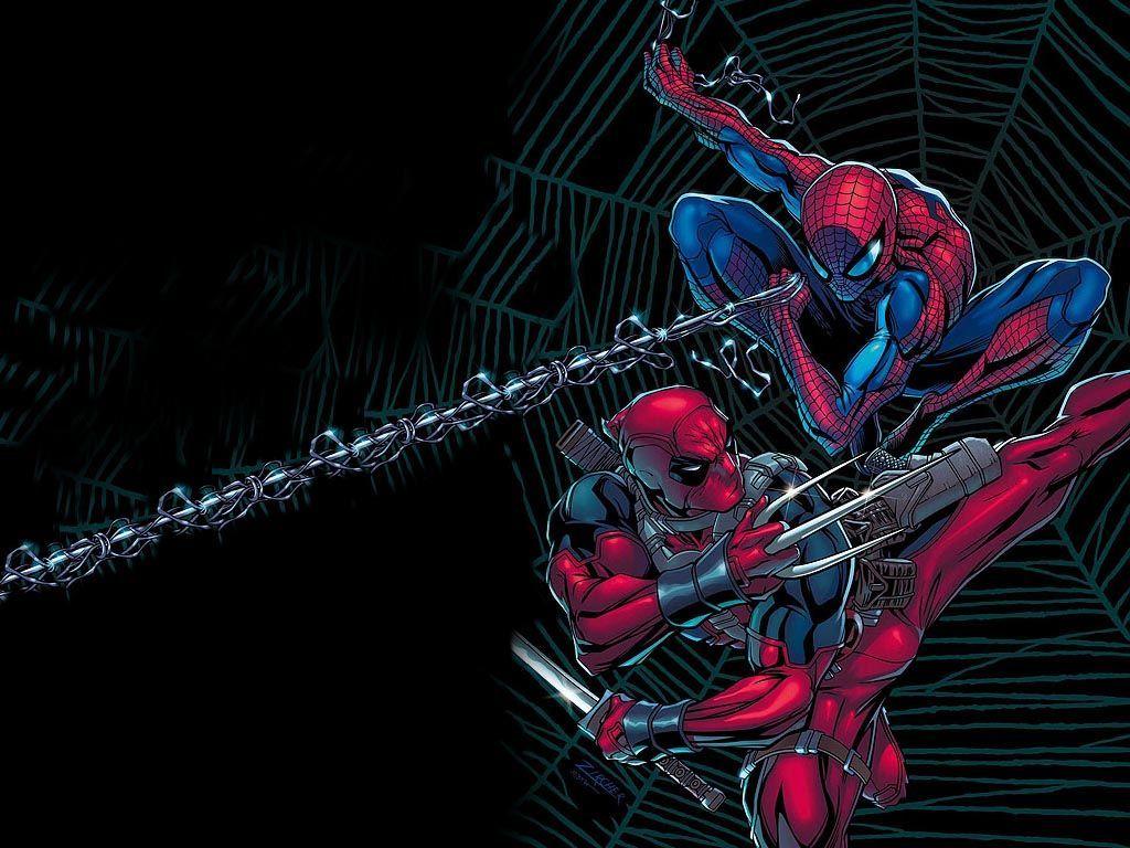 Deadpool Spiderman Wallpaper Picture