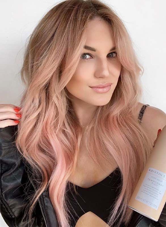 Photo of 22 Glorreiche Roségold-Haarfarbtöne für 2019   Fashionsfield