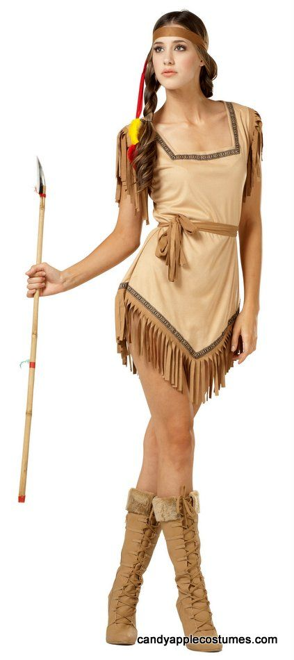 Nust Like The Name Galilahi Which Means Attractive In Cherokee This Sexy Indian Costume Is Oh So Pretty Adult Size Costume Includes Sexy And