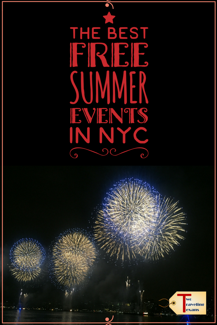 Best Free Summer Events in NYC | The Best of Two Traveling