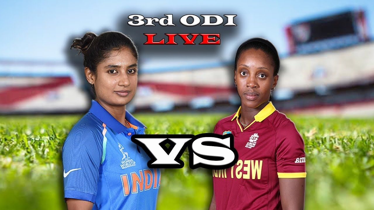 LIVE West Indies Women vs India Women , 3rd Colonial