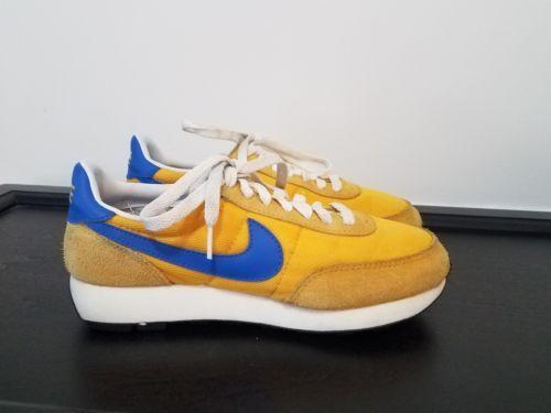 low priced e2742 6a736 Nike Daybreak LDV VINTAGE Waffle Yellow wBlue Sz 6.5M, 8W, EU 39 Awesome!