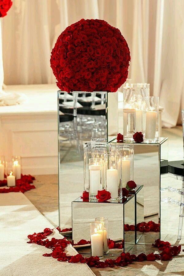 Centros de mesa para bodas Wedding, Wedding cake and Weddings