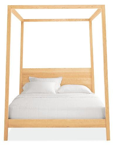 dream on: modern canopy beds for every budget   best modern canopy
