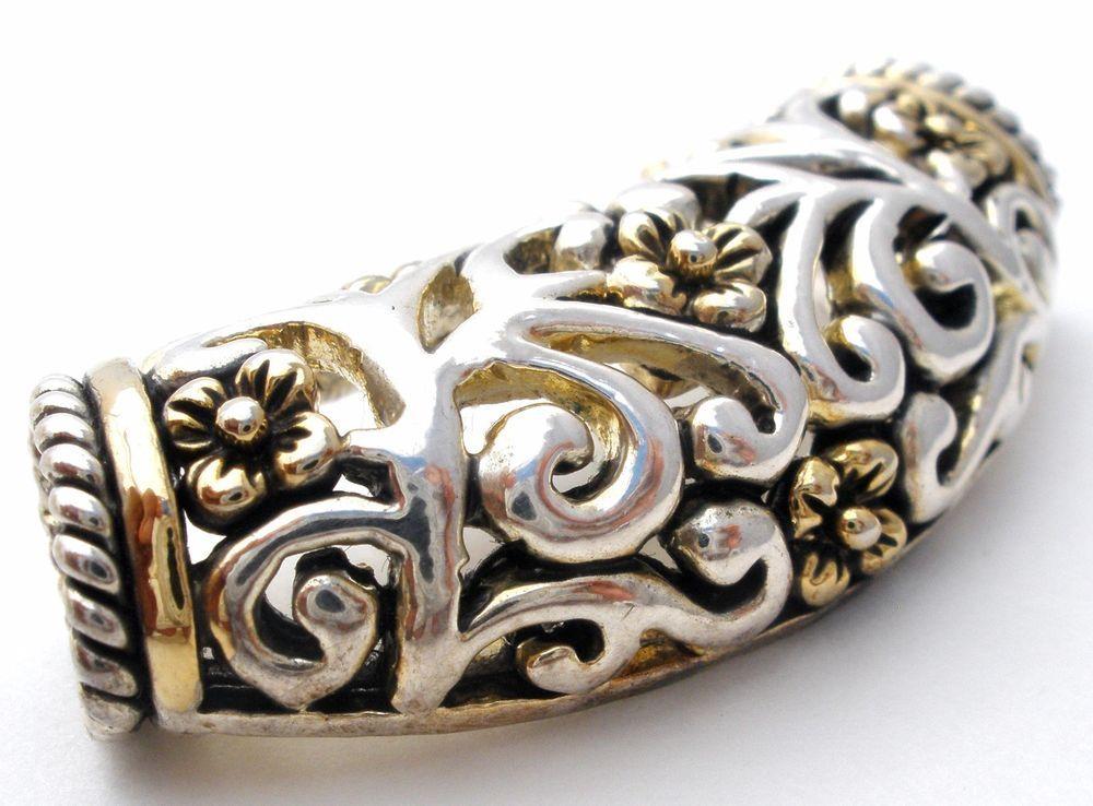 Silver gold oval pendant slide for omega necklace fashion jewelry silver gold oval pendant slide for omega necklace fashion jewelry signed mj aloadofball Images