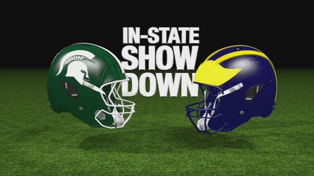 Michigan Vs Michigan State Football Game A State Tradition News Wnem Com In 2020 Michigan State Football Michigan Vs Michigan State Michigan State