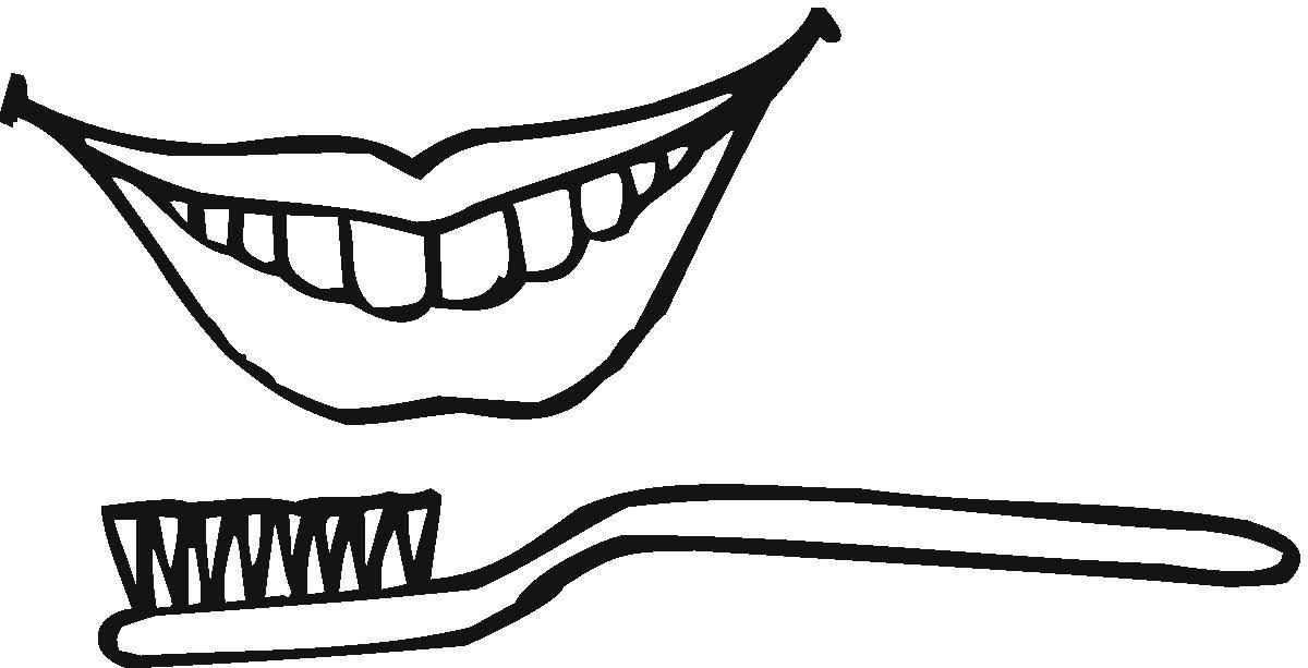 Toothbrush Coloring Page Health Wallpaper