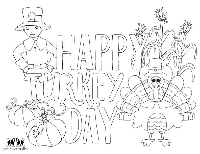 Printable Pilgrim Coloring Page 11 In 2020 Coloring Pages Turkey Coloring Pages Thanksgiving Traditions