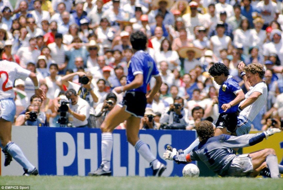 Football S Golden Years Pele And Bobby The Hand Of God That Barnes Goal And Even A Stray Dog England Against South Americans Soccer World Diego Maradona World Cup