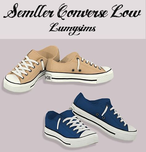 Semller Converse Low Tops Lumysims LOVE IT