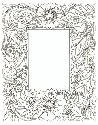 Line Drawing Flower Borders : Cynthia emerlye vermont artist and kirigami papercutter