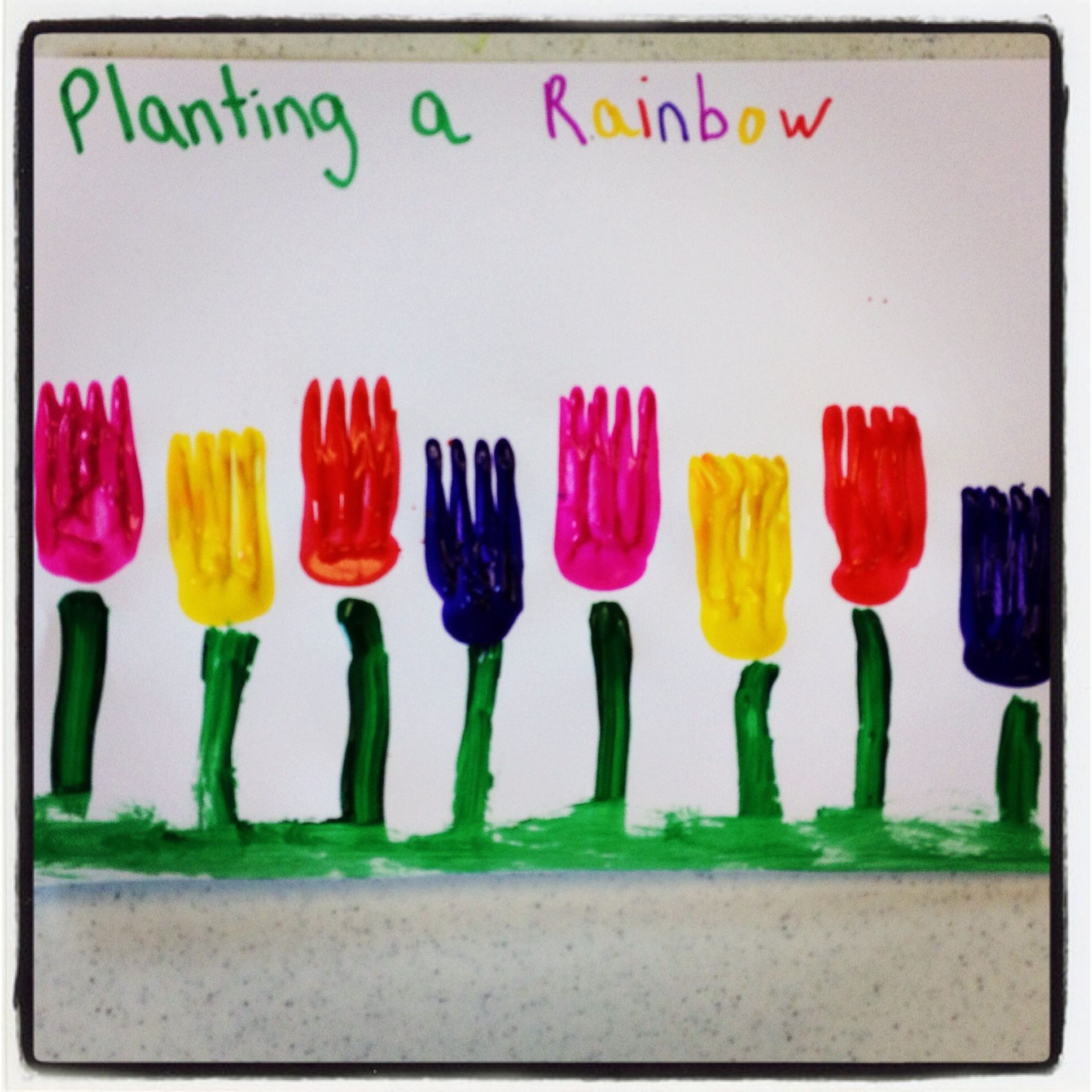 Planting A Rainbow With Forks