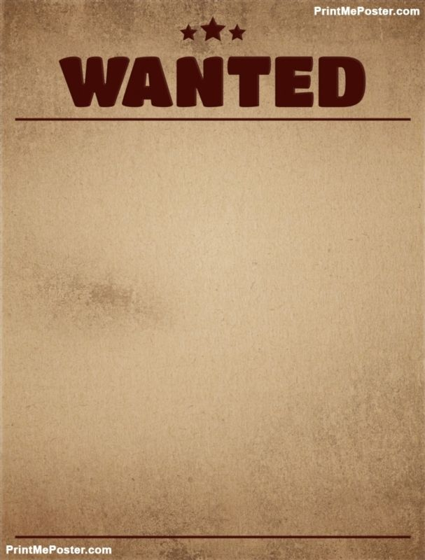 Wanted template background poster Wanted Posters Wanted template