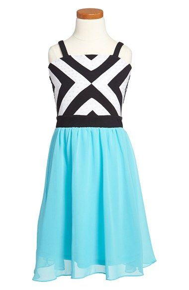 Sally Miller 'The South Beach' Sleeveless Dress (Big Girls) available at #Nordstrom #sallymiller