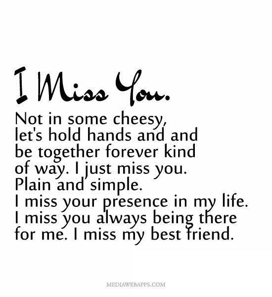 i miss you best friend quotes google search i miss you quotes