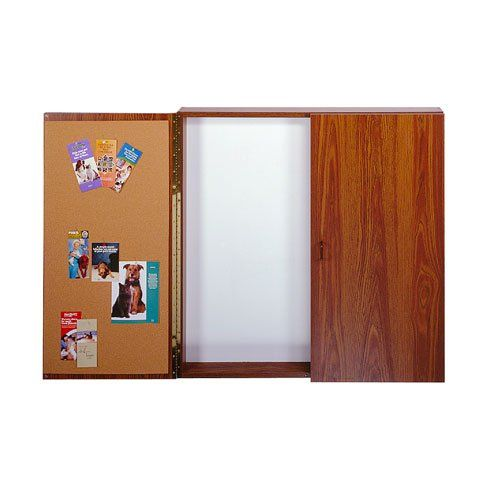 Traditional Conference Room Cabinets With Whiteboard Bulletin