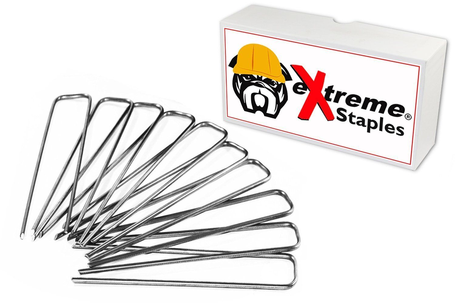 eXtreme 6\' 11 Gauge Professional Series Landscaping Staples for ...