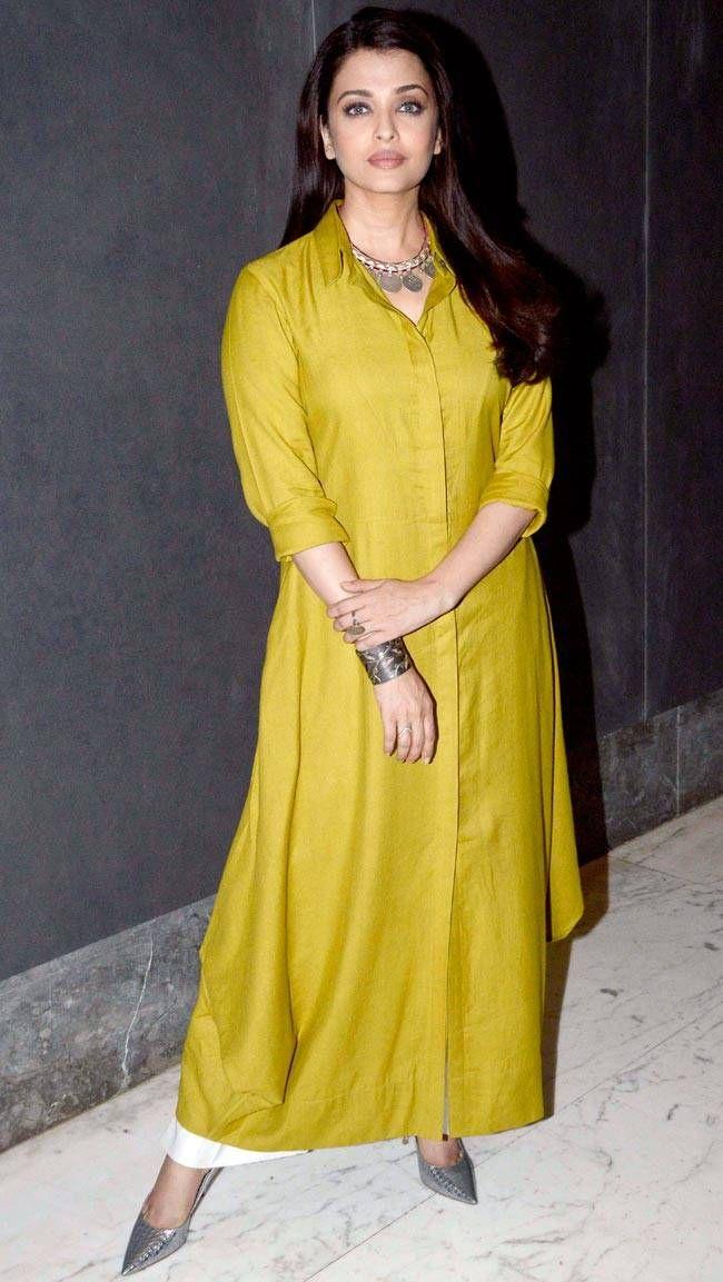bed461fd0 Celeb Spotting  Aishwarya promotes Sarbjit