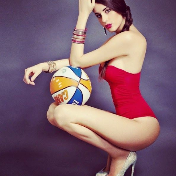 Sexy lingerie basketball