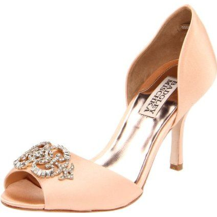 Peach D Orsay Georgia Peach Wedding Women Shoes Shoes Shoe