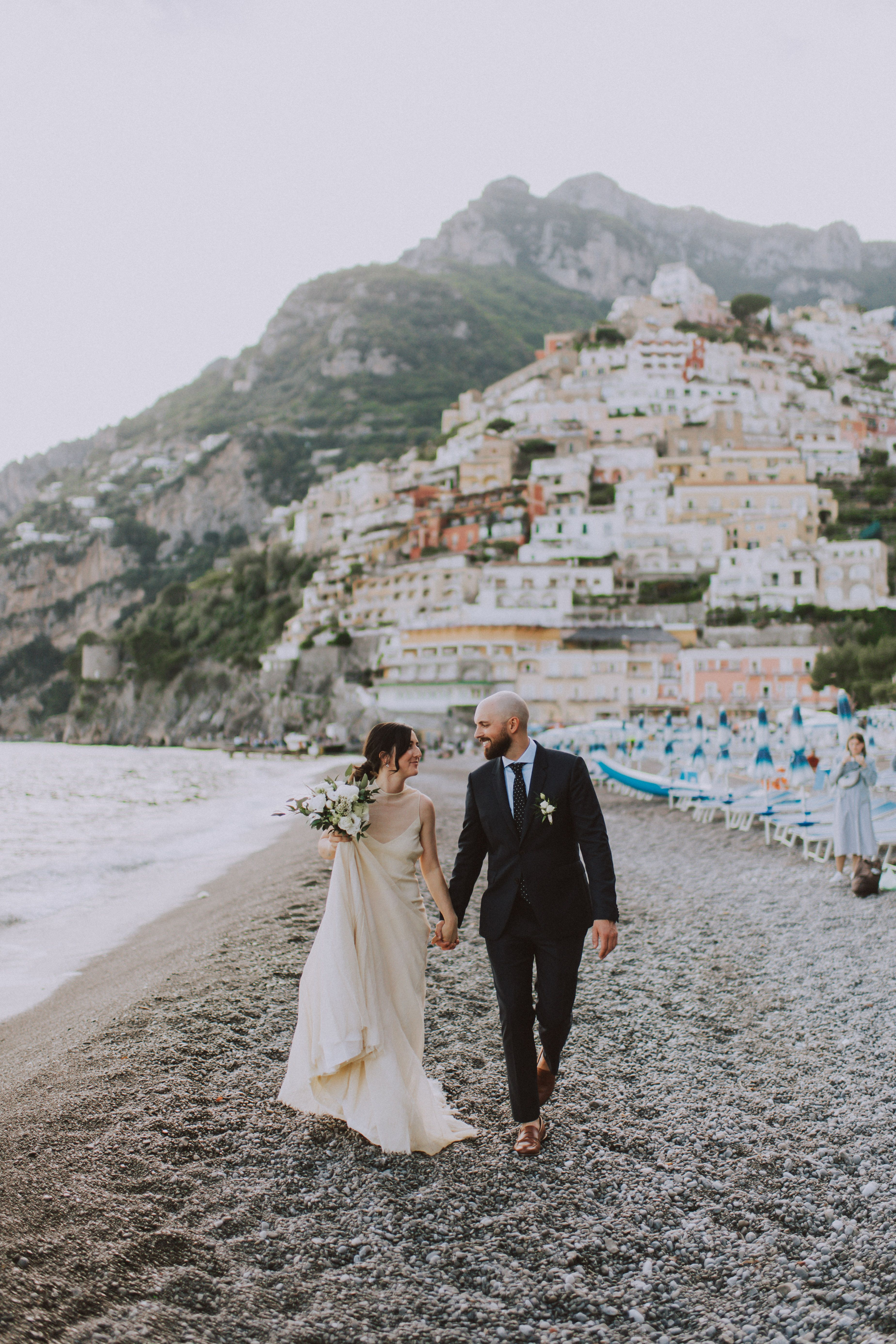 Italy Positano Elopement Peach Perfect Weddings In 2020 Destination Wedding Images Elope Italian Wedding