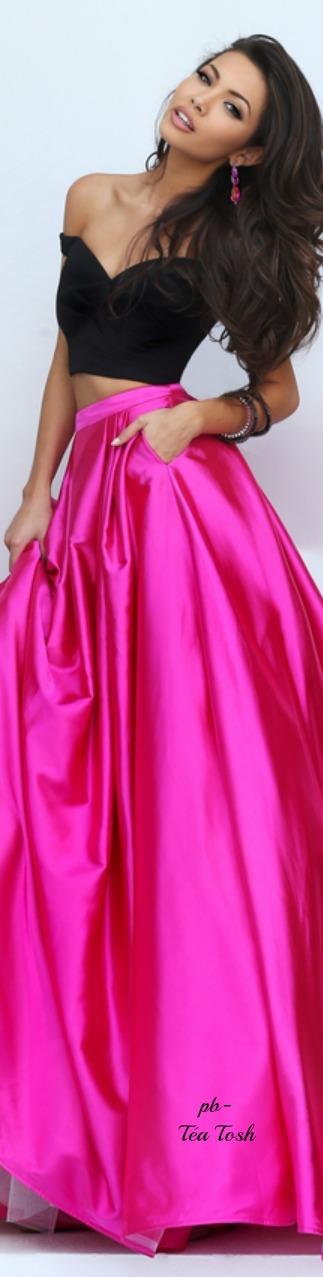 Pin de Stefania en Hot Pink * | Pinterest | Vestidos de noche, Moda ...