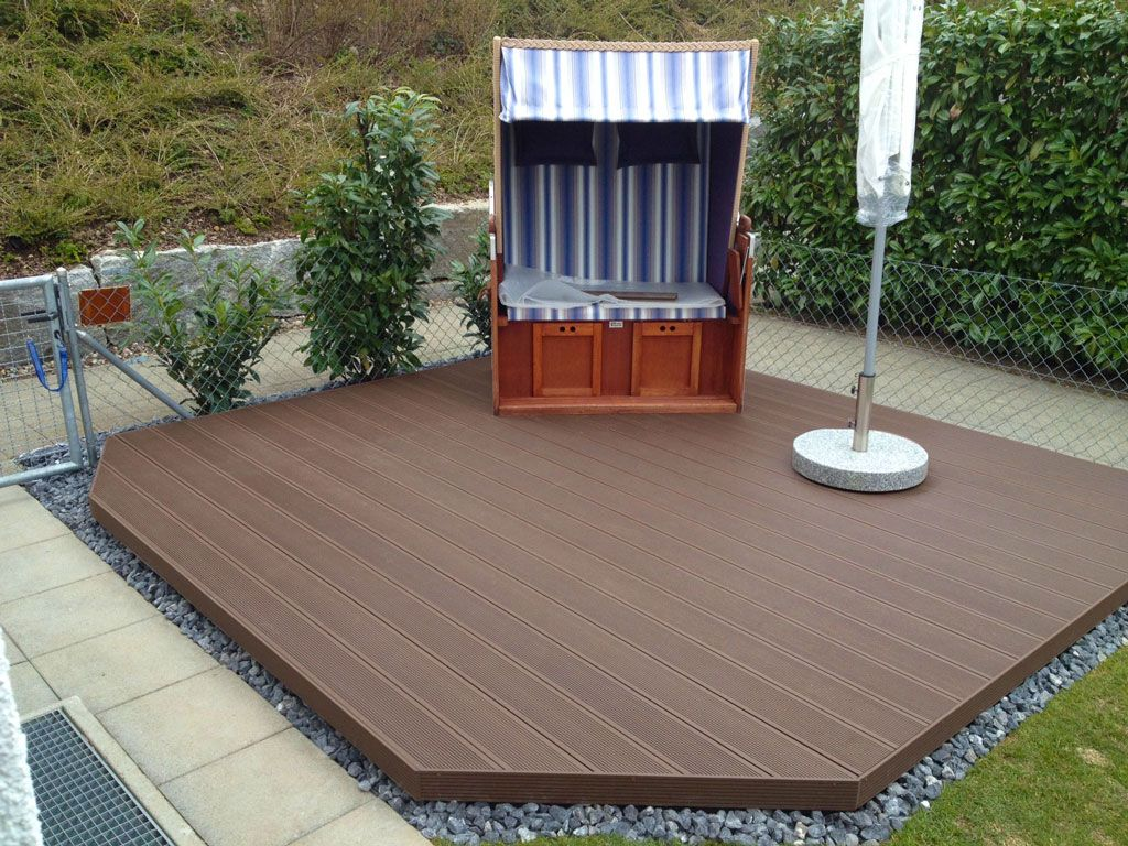 plastic wood decking