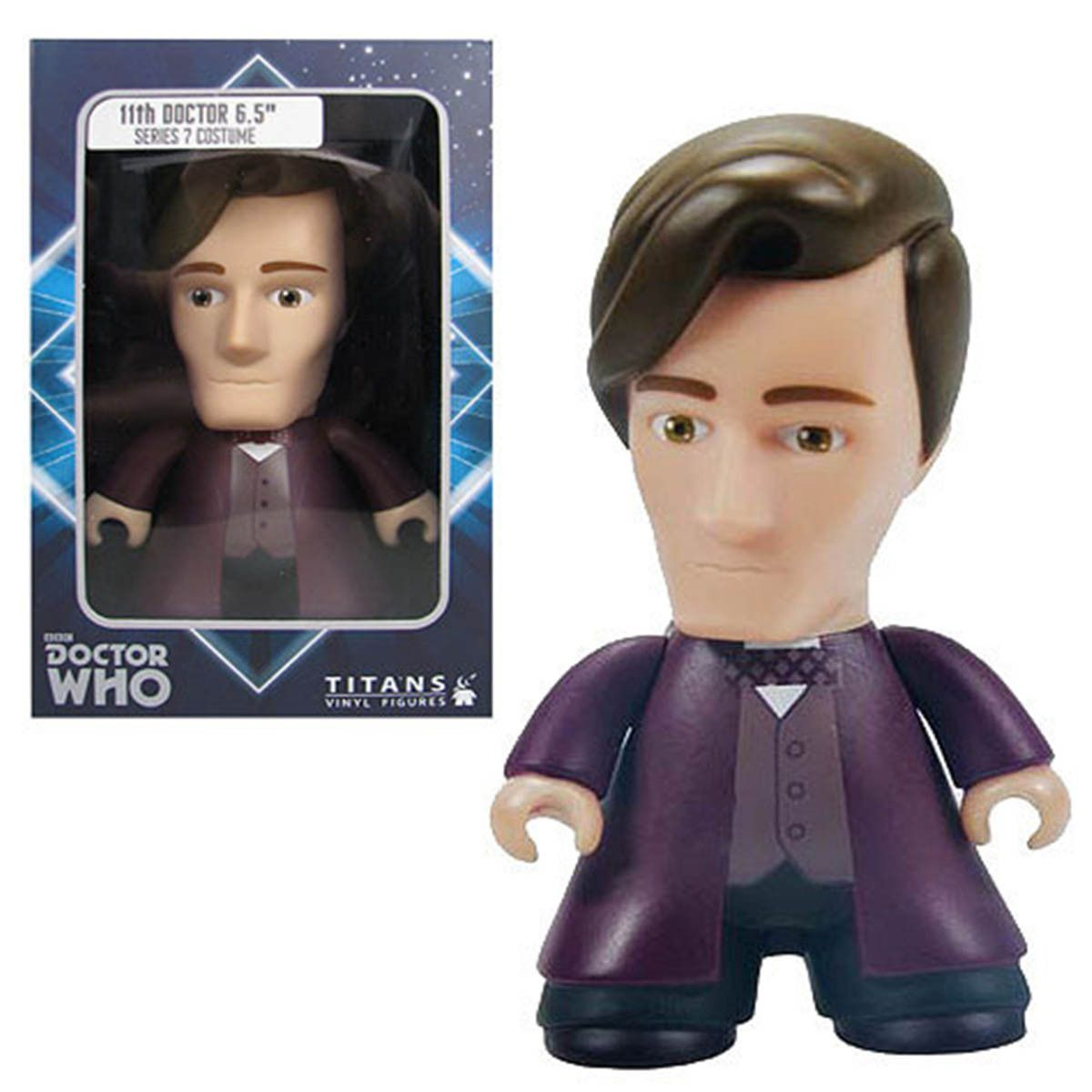Titans Vinyl Figures Doctor Who 11th Doctor Figures by the Unit!