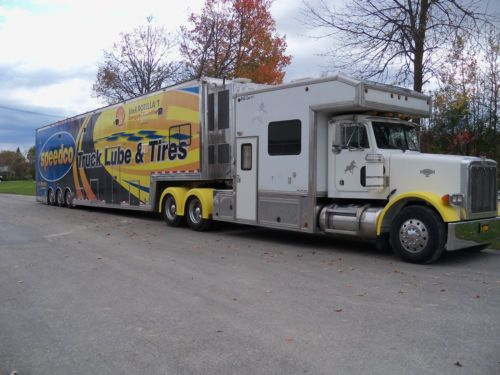 Toterhomes For Sale On Ebay >> Beautiful Peterbilt Toterhome With All The Bells Whistles Detroit