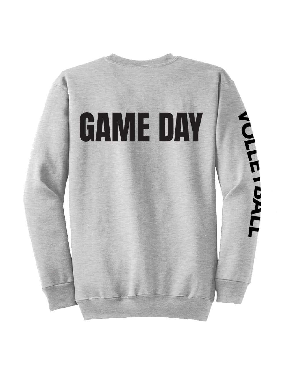 Game Day Crew Game Day Shirts Volleyball Sweatshirts Volleyball