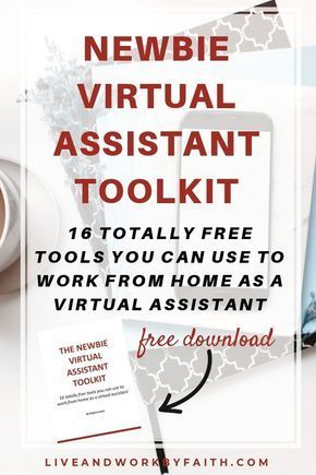 How to become a Virtual Assistant for FREE (Make $30+ an hour, easily!) #stayathome