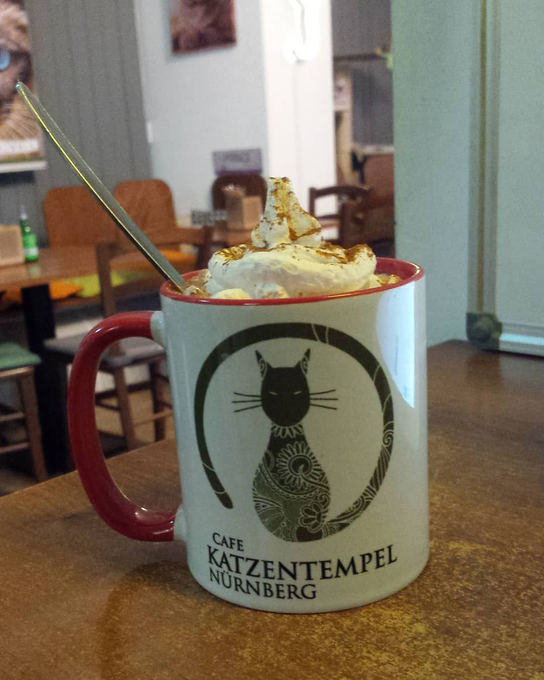 Don T Forget To Be Nourished During Work If You Like Cats Visit The Katzentempel In Nuernberg Cat Decor Diy Cute Cat Drawing Scared Cat