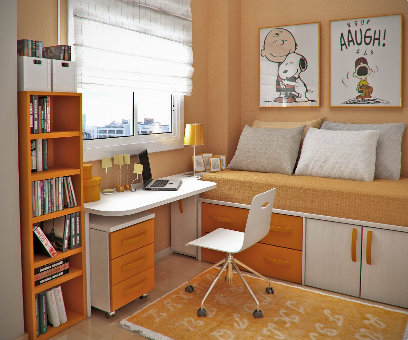 How To Make A Colorful Small Bedroom For Your Kid Small Room Design Small Bedroom Small Bedroom Organization