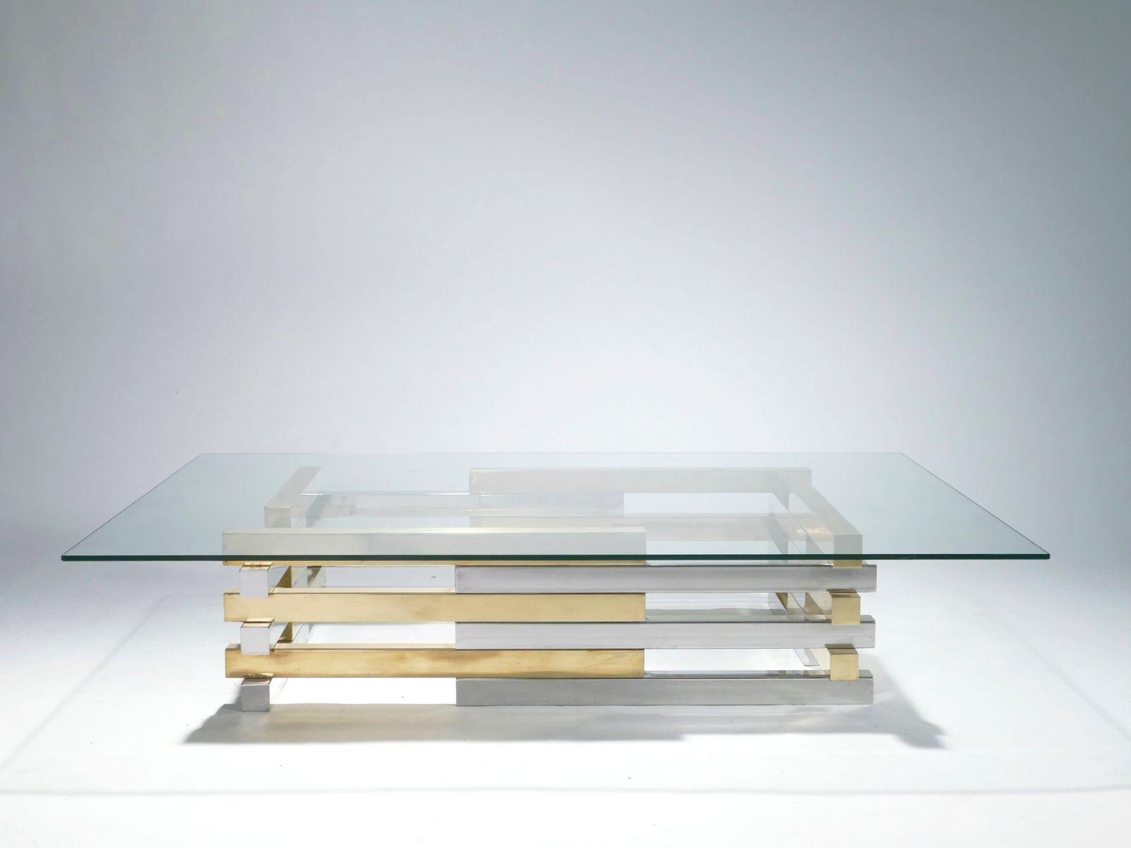 Wohnzimmertische Buche Couchtisch Glas Messing Oval Schwarzer
