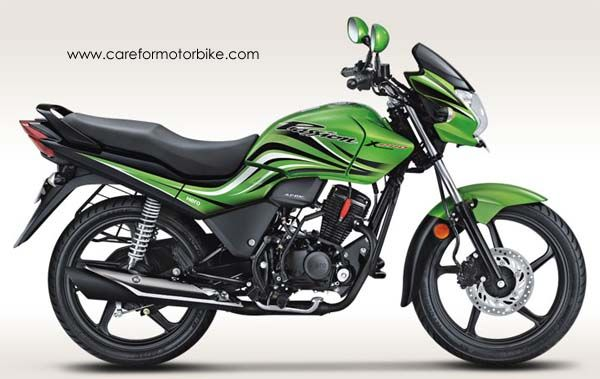 Hero Passion Xpro Motorcycle Leaf Green Metallic Colour Hero