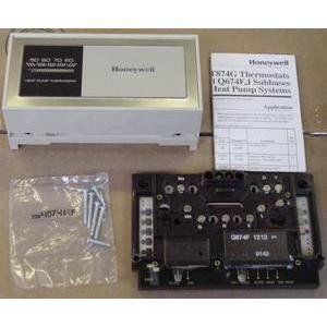 Honeywell Y594g1252 Multistage Heat Pump Thermostat Subbase Package By Honeywell 24 00 Multistage Heat Pum Home Thermostat Heat Pump Programmable Thermostat
