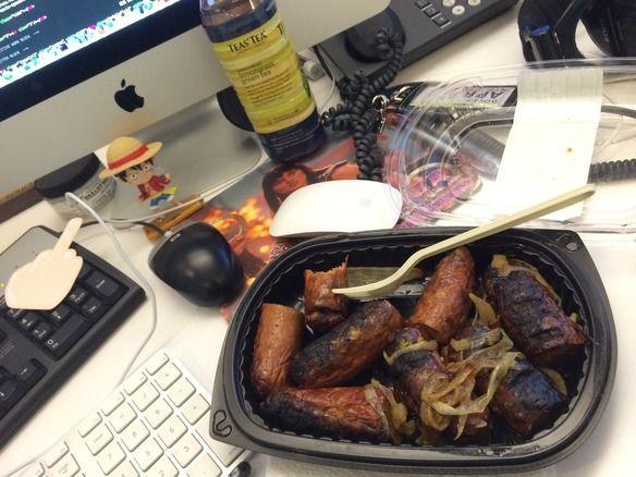 La comida más lamentable: los tuppers del trabajo.