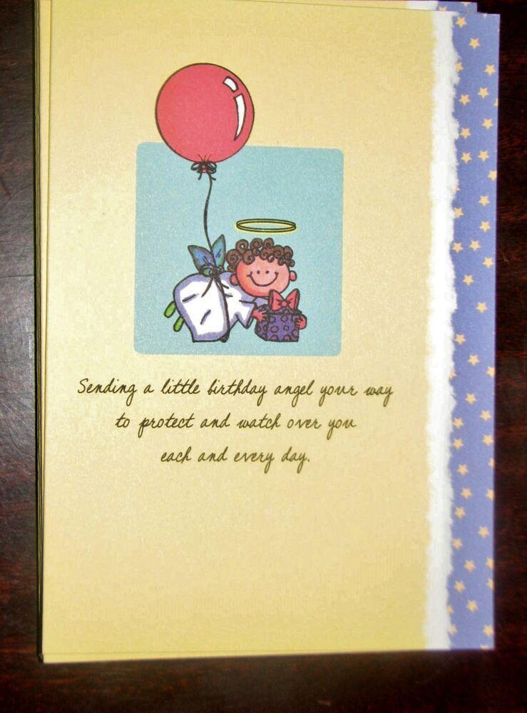 Blue Mountain Arts Greeting Card Sending A Little Birthday Angel