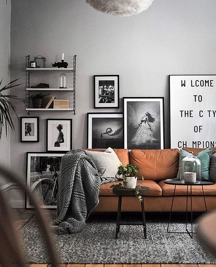 Zwart Wit Foto's Aan De Muur Pinterest Wohnzimmer Custom Deco Bedroom Minimalist Interior