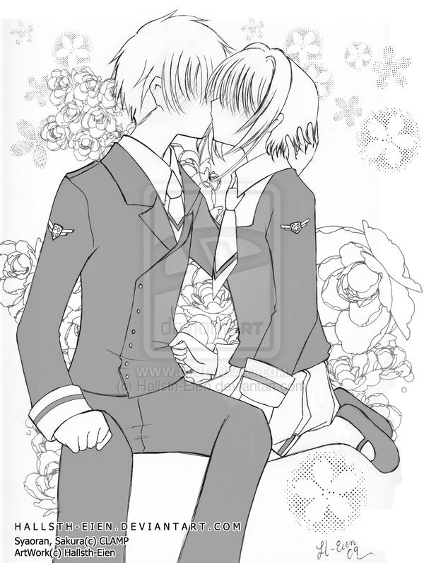 Resultado de imagem para sakura and shaoran kiss | Cardcaptor sakura ...