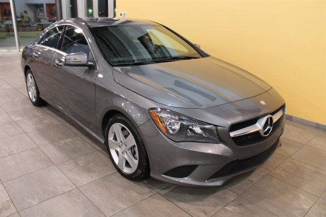 2015 Mercedes Benz Cla Class Cla250 4matic Coupe Mercedes Benz